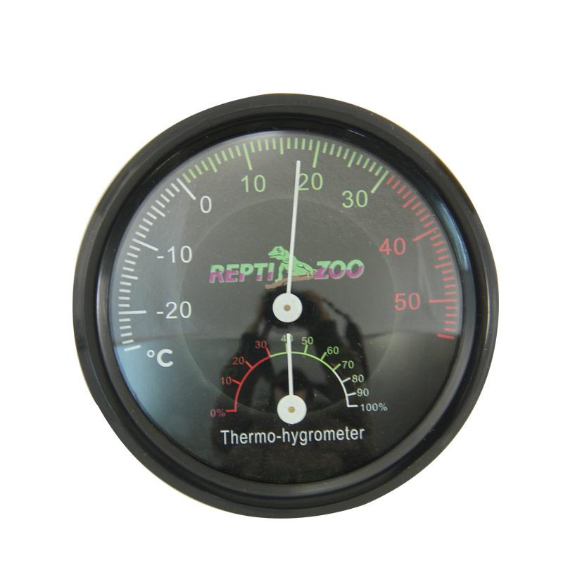 РептиЗоо Термометр/гигрометр аналоговый R0193, ReptiZoo
