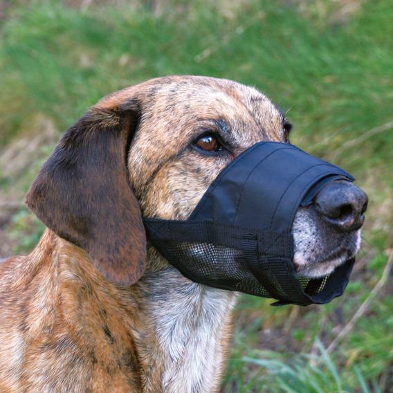 Трикси Намордник для собак из нейлона, с сеткой, 5 размеров, Trixie
