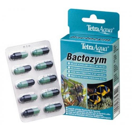 Тетра Средство Bactozym для активации бактерий, 10 капсул, Tetra