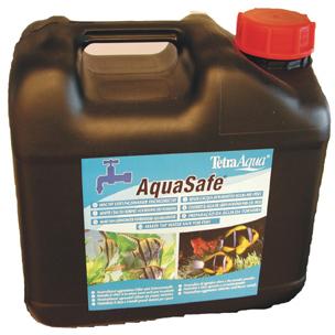 Тетра AquaSafe Кондиционер для подготовки воды, 5 объема, Tetra
