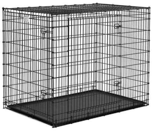 Мидвест Металлическая двухдверная клетка для собак гигантских пород Grate Ginormus (Solutions), 137*94*114 см, Midwest