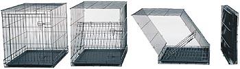 Мидвест Металлическая двухдверная клетка iCrate, в ассортименте, Midwest