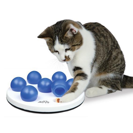 Трикси Развивающая игрушка для кошек Солитер, диаметр 20 см, в ассортименте, Trixie