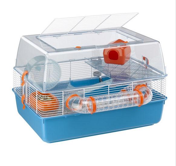 Ферпласт Трехэтажная клетка-террариум Duna Fun для грызунов, в ассортименте, Ferplast