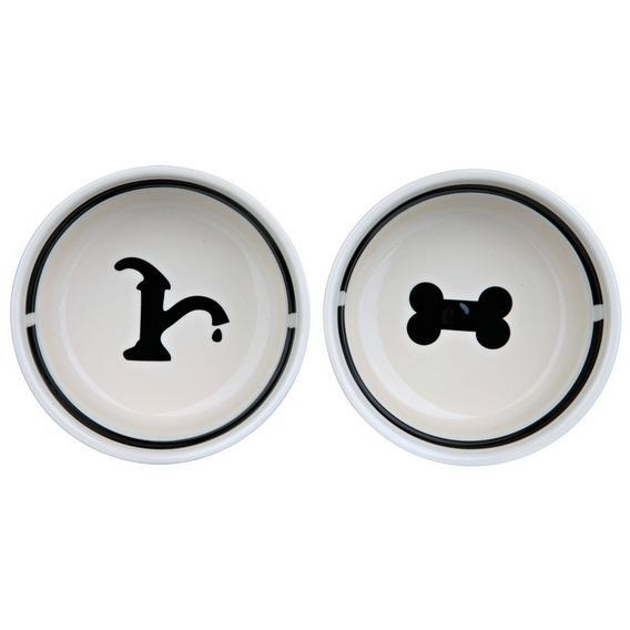 Трикси Миски керамические на подставке, для собак, в ассортименте, Trixie