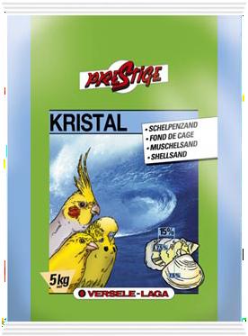 Верселе Лага Песок с ракушечником Prestige Kristal Shell Sand для всех видов птиц, в ассортименте, Versele-Laga