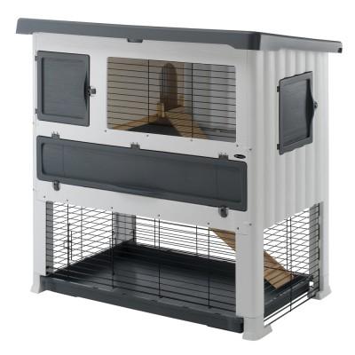 Ферпласт Пластиковая клетка Grand Lodge Plus для кроликов и морских свинок, в ассортименте, Ferplast