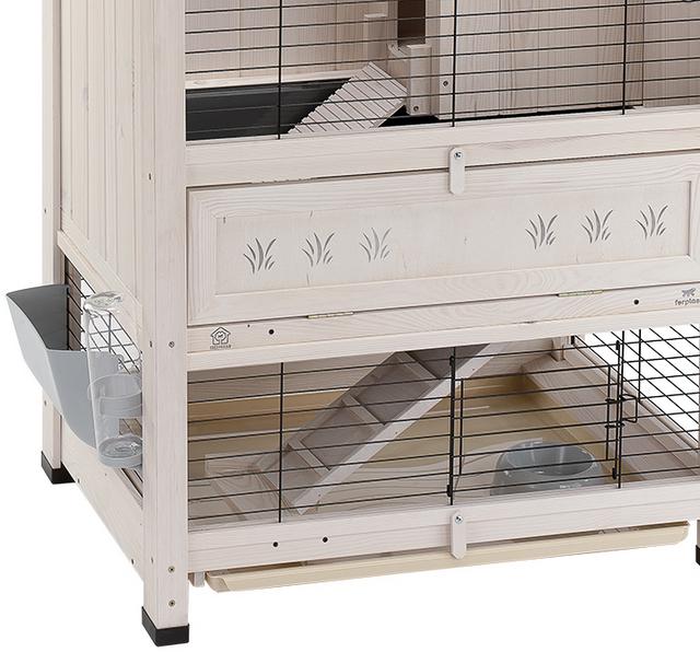 Ферпласт Деревянная клетка Cottage для кроликов и морских свинок, в ассортименте, Ferplast