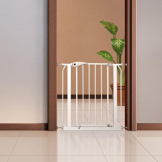 Трикси Перегородка с захлопывающейся дверкой, ширина 75-85 см, высота 76 см, белая, Trixie