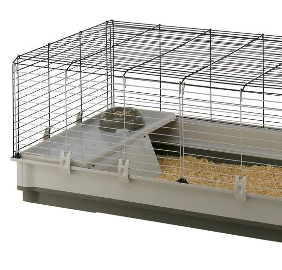 Ферпласт Клетка Krolik Extra large для кроликов и морских свинок, 120*60*50 см, в ассортименте, Ferplast