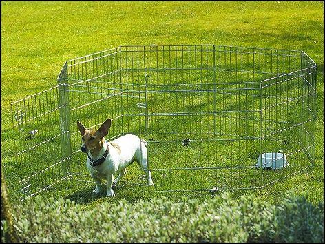 Савик Вольер Dog Park металлический восьмисекционный, в ассортименте, серая эмаль, Savic