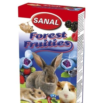 Санал Витаминное лакомство для грызунов Sanal с начинкой, 50 гр , в ассортименте