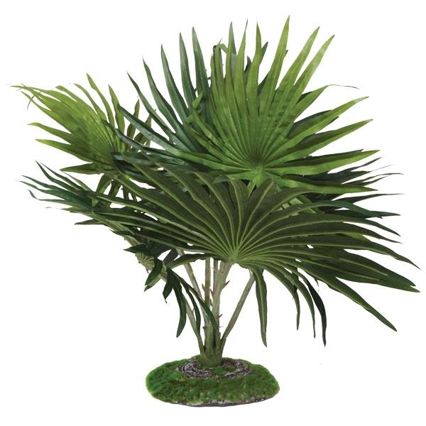 """РептиЗоо Растение """"Веерная пальма"""" для террариума, 52 см, ReptiZoo"""