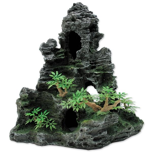 """Триол Декорация 004KD """"Скала с пещерой"""", 30*18*27,5 см, Triol"""