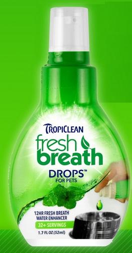 """Тропиклин Капли Fresh Breath """"Свежее дыхание"""" для полости рта собак, 65 мл, Tropiclean"""