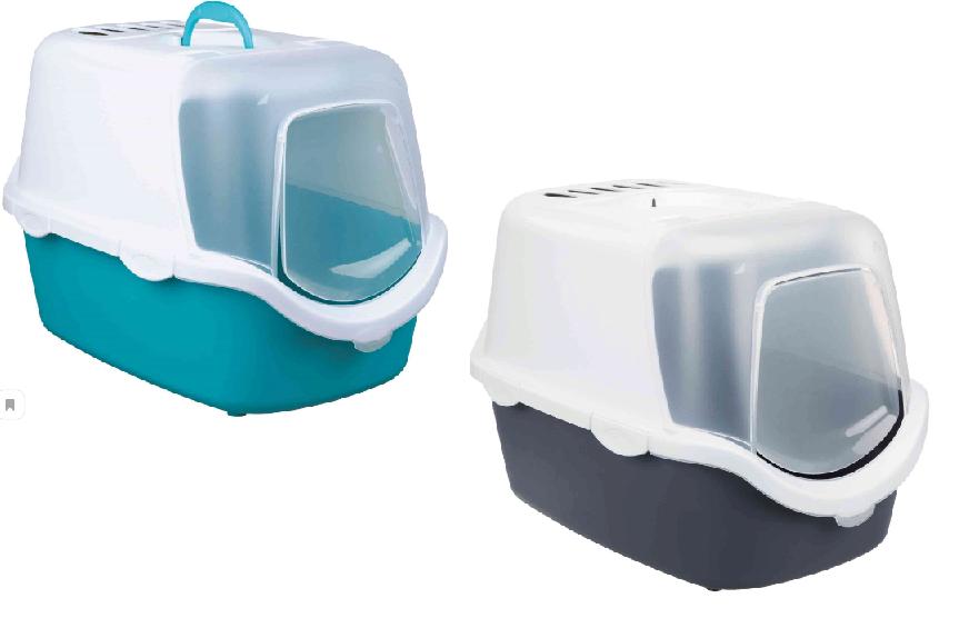Трикси Туалет-бокс Vico Open с угольным фильтром и дверкой, 40*56*40 см, в ассортименте, Trixie