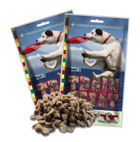 Грин Кьюзин Лакомства для дрессуры собак, 50 г, в ассортименте, Green Qzin