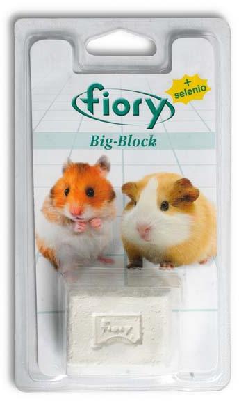 Фиори Био-камень с селеном для грызунов, с креплением к клетке, 2 весовки, Fiory