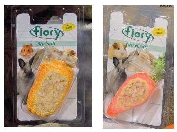 Фиори Минеральный Био-камень с солью для грызунов, 2 вида, Fiory