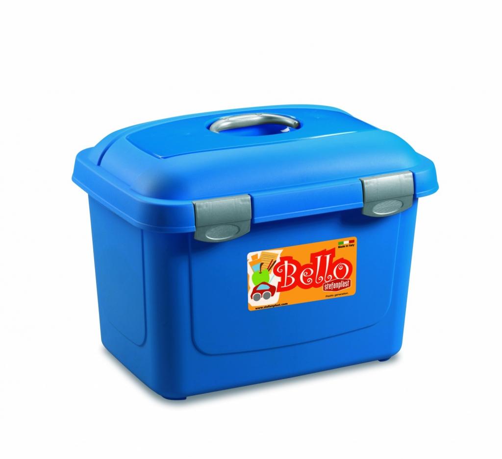 Стефанпласт Контейнер Bello для корма, в ассортименте, 45*33*33 см, 26 литров, Stefanplast