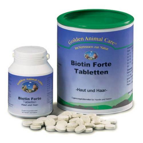 Анивитал Витаминный комплекс Biotin Forte для улучшения кожи и шерсти для собак, кошек, лошадей, 100 таблеток, Anivital