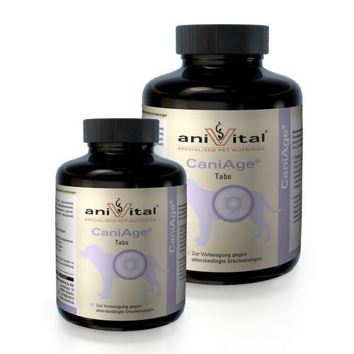 Анивитал Витаминный комплекс CaniAge (Каниэйдж) для собак при нарушениях вызванных возрастными изменениями, в ассортименте, Anivital
