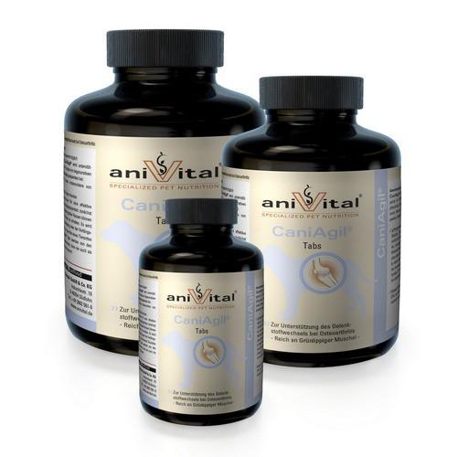 Анивитал Витаминно-минеральный комплекс CaniAgil (Каниагил) для собак для суставов и связок, в ассортименте, Anivital