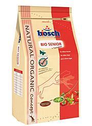 Корм Бош Bio Senior + Томаты сухой для пожилых собак всех пород, 3 весовки, Bosch