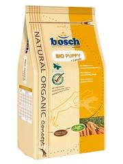 Корм Бош Bio Puppy + Морковь сухой для щенков всех пород, 3 весовки, Bosch