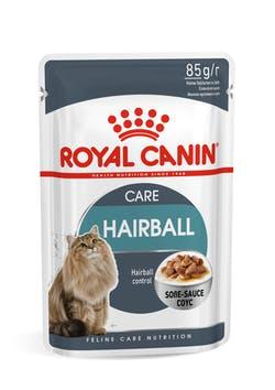 Влажный корм (паучи) Роял Канин Hairball Care для кошек Профилактика образования волосяных комочков в ЖКТ, 12*85 г, Royal Canin