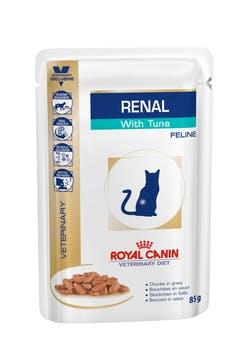 Пауч Роял Канин VET Renal для кошек с почечной недостаточностью, 12*85 г, в ассортименте, Royal Canin