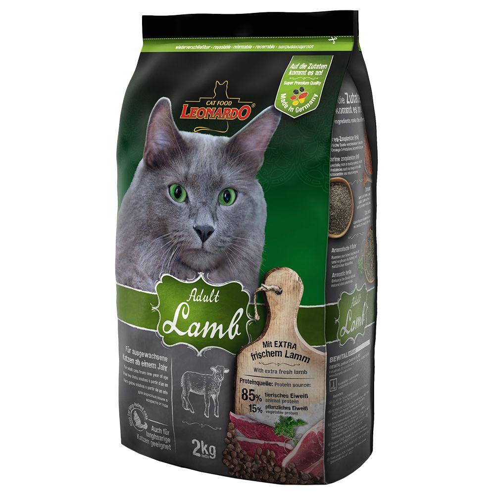 Леонардо Корм сухой Adult Lamb Rice для кошек склонных к аллергии, Ягненок/Рис, в ассортименте, Leonardo