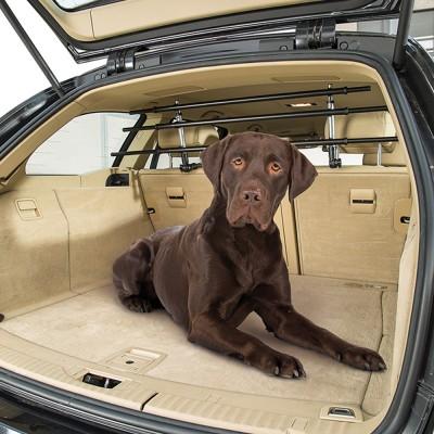 Ферпласт Решетка для багажника автомобиля регулируемая Dog Car Security, 82(141)*15*32(43) см, Ferplast