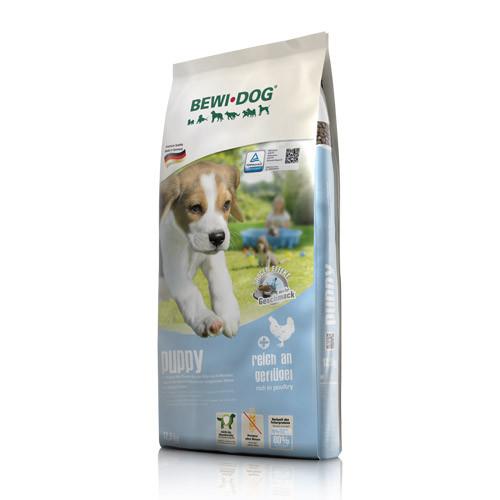 Беви Дог Корм сухой Bewi Dog Puppy для щенков всех пород, 12,5 кг, BewiDog