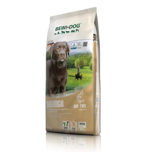 Беви Дог Корм сухой Balance для взрослых собак с низким уровнем активности, пожилых собак, 12,5 кг, BewiDog