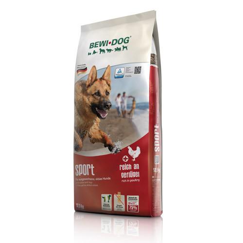 Беви Дог Корм сухой Bewi Dog Sport для собак с высоким уровнем активности, 12,5 кг, BewiDog