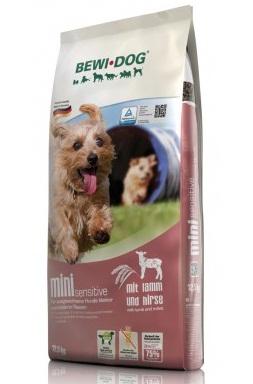 Беви Дог Корм сухой гипоаллергенный Mini Sensitive для собак мелких пород, Ягненок, в ассортименте, BewiDog
