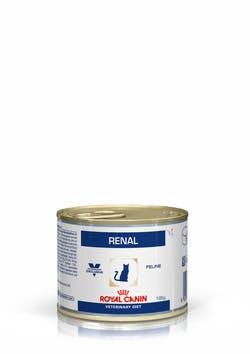 Консервы Роял Канин VET Renal для кошек при почечной недостаточности, 12*195 г, Royal Canin