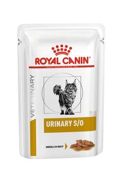 Пауч Роял Канин VET Urinary S/O для кошек при мочекаменной болезни, Курица, 12*85 г, Royal Canin