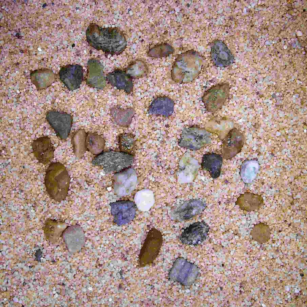 Хайдор Грунт натуральный (H2Show) крупный песок с галькой, 5 кг, Hydor