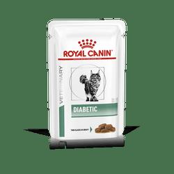 Пауч Роял Канин Vet Diabetic для кошек при сахарном диабете, 12*85 г, Royal Canin