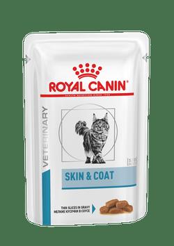 Пауч Роял Канин Skin end Coat Formula для длинношерстных кастрированных/стерилизованных котов и кошек, 12*85 г, Royal Canin