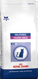 Корм Роял Канин VCN сухой Neutered Young Male (Ньютрид Янг Мэйл) для кастрированных КОТОВ от 1 года до 7 лет, в ассортименте, Royal Canin