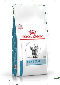 Корм Роял Канин Vet Skin end Coat сухой для кошек/котов кастрированных или стерилизованных с повышенной чувствительностью кожи и шерсти с момента операции до 7 лет, в ассортименте, Royal Canin