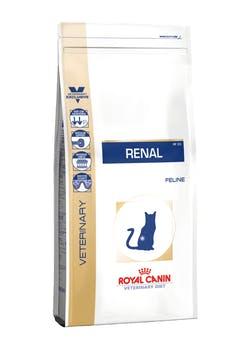 Корм Роял Канин VET сухой Renal feline RF23 для кошек при хронической почечной недостаточности, в ассортименте, Royal Canin