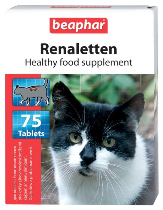 Беафар Витамины Renaletten для стареющих кошек, 75 табл, Beaphar