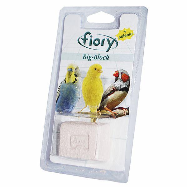 Фиори Био-камень Big-Block с селеном для птиц, 2 весовки, Fiory