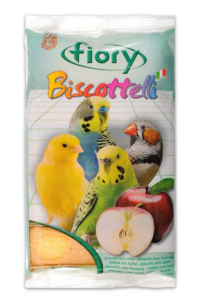Фиори Бисквиты Biscottelli для птиц, 35 г, в ассортименте, Fiory