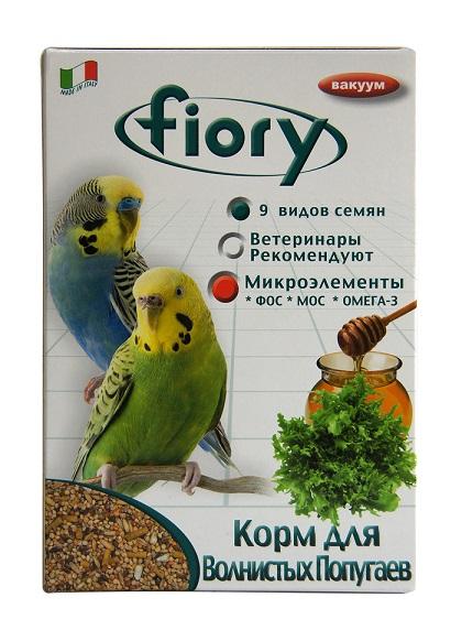 Фиори Корм Pappagallini для волнистых попугаев, в ассортименте, Fiory