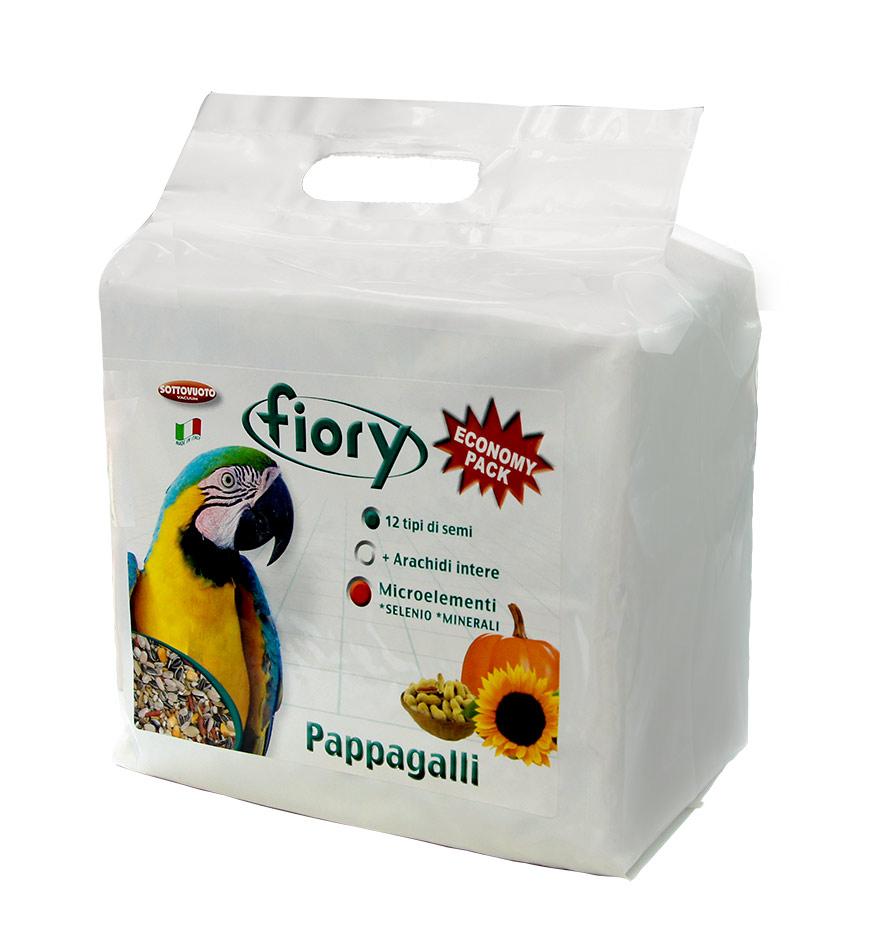 Фиори Корм Pappagalli для крупных попугаев, в ассортименте, Fiory